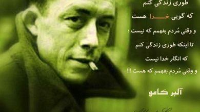 سخنان زیبا آلبر کامو