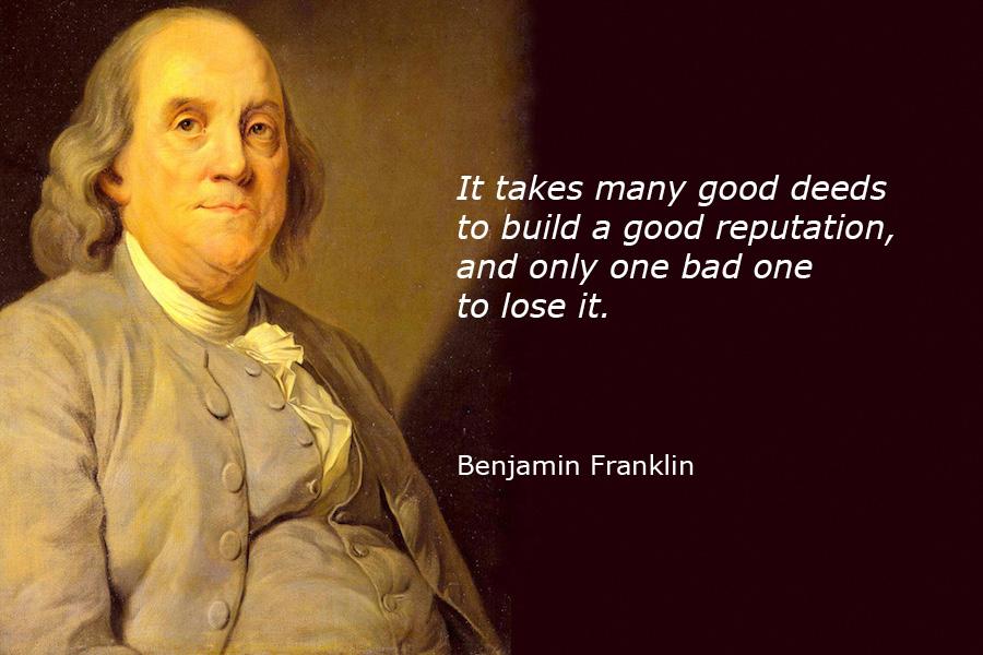 Benjamin-Franklin-Quote-mehrzoir سخن زیبا از بنجامین فرانکلین